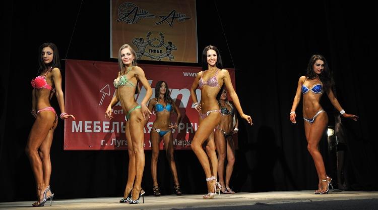 Фитнес бикини луганск