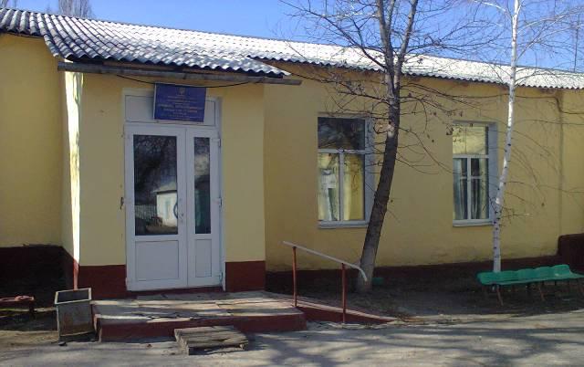 Школа в поселке Крымское