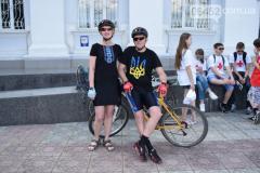 Северодонецк и Мариуполь отметили всеукраинский велодень