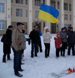 В Северодонецке молились за Украину