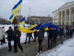 Сегодня северодончане вышли на Марш Мира