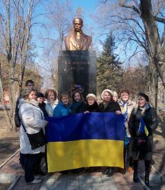 Северодончане отметили день рождения Тараса Шевченко