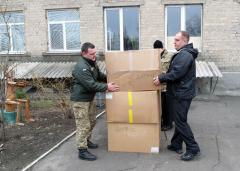 Волонтеры доставили в Луганскую область 15 тонн гуманитарки