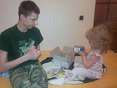 Луганчани з обмеженими фізичними можливостями отримали «Пакунки щастя» від школярів Київщини
