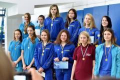 Результаты выступлений спортсменов-подводников на Чемпионате Украины по плаванию в ластах среди взрослых и юношей