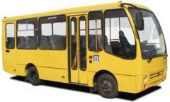 Оголошення про проведення конкурсу на визначення автомобільного перевізника на автобусному маршруті загального користування м. Сєвєродонецька
