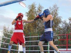 Ко Дню города в Кременной состоялась матчевая встреча по боксу