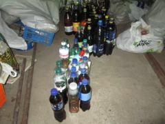 В Сєвєродонецьку поліцейські припинили діяльність «точки» продажу самогону