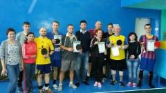 В Северодонецке завершился первый Чемпионат города по настольному теннису среди спортсменов с нарушениями слуха