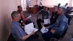 Три сотні поліцейських Луганської та Донецької областей навчатимуться співпрацювати з громадою