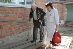 Патронажна служба Товариства Червоного Хреста України: 55 років служіння людям