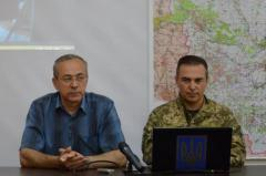 Руслан Ткачук - речник АТО - о ситуации в Луганской области