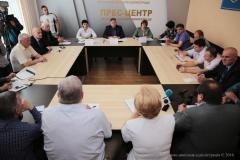 Юрій Гарбуз провів нараду з ректорами ВНЗ Луганщини