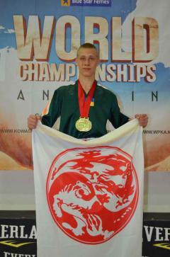 Павел Анистратенко стал мастером спорта Украины по кикбоксингу WPKA