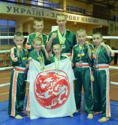 Кикбоксинг WPKA: 16 медалей еще двух чемпионатов Украины - у Северодонецка