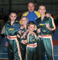 АТО и дети: 6 первых, 8 вторых и 7 третьих мест по кикбоксингу WPKA из Чернигова - у «украинских луганчан»