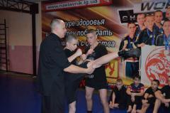 Мастер-класс по кикбоксингу: группа спортивного совершенствования Северодонецка в гостях в Лисичанске