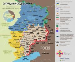 На Луганському напрямку незаконні збройні формування порушили режим тиші 6 разів