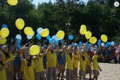 В Луганской области торжественно открыли детский оздоровительный лагерь «Джура»