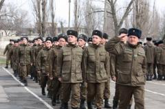 В Рубежном впервые отметили День Национальной гвардии