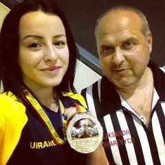 Наша Валентина  Денисова стала второй на Чемпионате Европы по армрестлингу