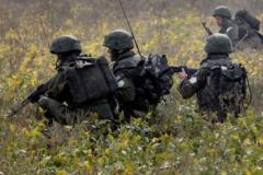 В Луганской области замечены подразделения артразведки ВС России
