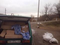 «Фантом» затримав автомобілі, які незаконно намагалися переправити на окуповану територію понад 2 тонн продуктів