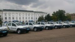 Аваков подарил луганским копам 34 новых автомобиля