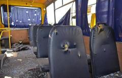 Пассажиры автобуса в Волновахе погибли от взрыва ракеты, прилетевшей с северо-востока