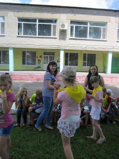 «Подорож до країни професій» в дитячому закладі оздоровлення та відпочинку «Гончарівський»