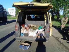 У Кременському районі на блокпосту правоохоронці виявили в автомобілі тротил та детонатор