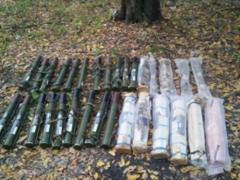 Под Северодонецком обнаружен схрон с боеприпасами
