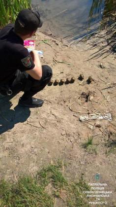 На Парковом озере полицейские обнаружили боеприпасы