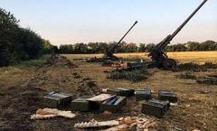 Боевики ведут обстрел мирных населенных пунктов на Луганщине из тяжелой артиллерии