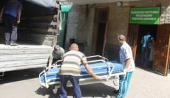 Волонтеры привезли новое оборудование в Лисичанскую больницу им. Титова