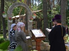 В Сєвєродонецьку освятили ікону «Чорнобильський спас»