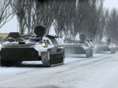 """Россияне и боевики стягивают силы к Бахмуткой трассе: 600 """"штыков"""", танки и бронемашины"""