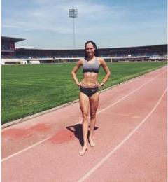 На чемпіонаті світу з легкої атлетики встановлено національний рекорд України