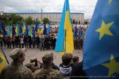 В Северодонецке отметили День Европы