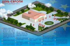 Заходи 20 травня до Дня Європи Луганської області 2016