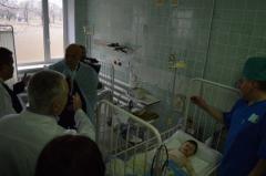 В Лисичанске открыли Луганскую областную детскую клиническую больницу