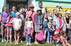 В Северодонецке открыли спортивную лагерную смену