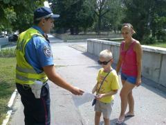Літо має бути безпечним для малолітніх учаcників дорожнього руху