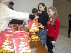 Гуманітарну допомогу, відправлену із Сєвєродонецька в ЛНР наприкінці грудня, роздали дитячим та соціальним установам на контрольованій бойовиками території