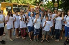 Школярі зі Станиці Луганської виїхали відпочити на Західну Україну