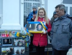 Северодонецкие активисты почтили память полковника Радиевского