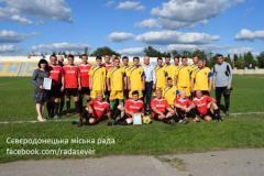 Сєвєродонецька міська рада обіграла лисичанських колег в товариському матчі в футбол