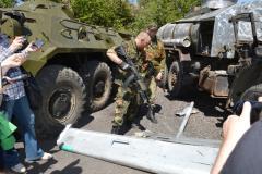 Журналисты побывали в гостях у батальона «Торнадо»