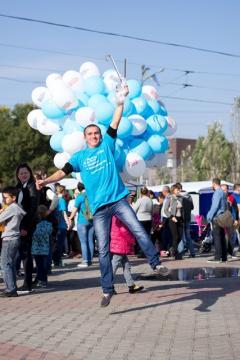 Фестиваль мира и безопасности собрал тысячу жителей Луганщины
