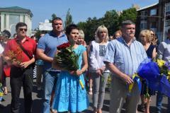 В Сєвєродонецьку відзначили День Конституції України